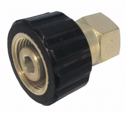 Threaded Connector - M22F - 1/4F